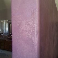 Faux Finishing Purple Bedroom