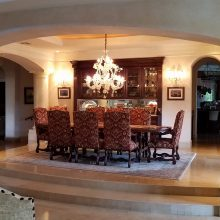 Faux Finished Formal Dining Room in Lake Las Vegas