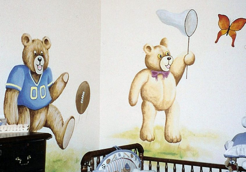 nursery-bears-mural-custom-baby-room-paintings